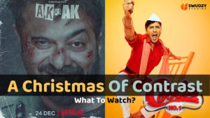 Coolie No. 1 and AK vs AK - A Christmas of Contrast